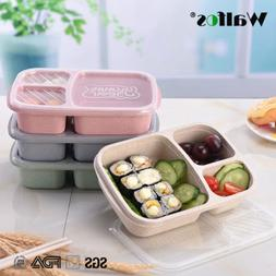 Wheat Non-pollution Microwave Bento Lunch Box Picnic Food Co