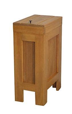 Wood Trash Bin Kitchen Trash Can Wood Trash Can Cabinet Dog